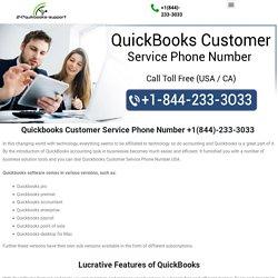 Call +I(844)-233-3O33 Quickbooks Customer Service Phone Number USA