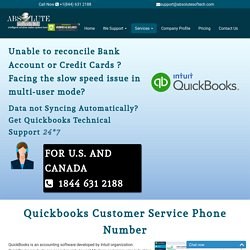 Quickbooks Customer Support Intuit Help Phone Number