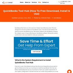 QuickBooks Tool Hub (How To Free Download, Install & Use)