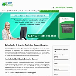 1844-706-6636 QuickBooks Enterprise Tech Support Phone Number