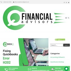 How to fix Quickbooks Error H202, Quickbooks Support