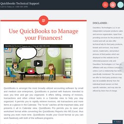 Use QuickBooks to Manage your Finances!