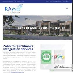 Zoho to Quickbooks Integration