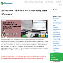 QuickBooks Outlook Is Not Responding Error