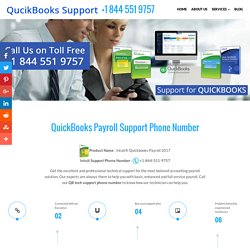 QuickBooks Payroll Support 1844.551.9757 Intuit Customer Service