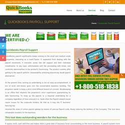 Call Quickbooks Payroll Support Number 1-800-518-1838