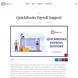 Quickbooks payroll support phone number +1-844-405-0904