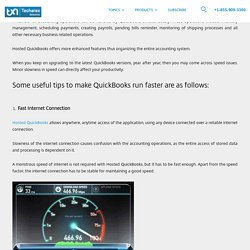 Tricks to Speed Up your QuickBooks Performance