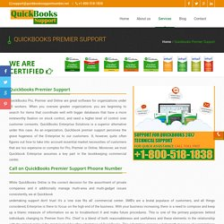 Quickbooks Premier Support Phone Number 1-800-518-1838