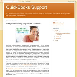 Make your Accounting easy with the QuickBooks