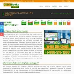 Quickbooks Cloud Support 1-800-518-1838 Hosting