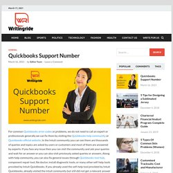Quickbooks Support Number +1-844-405-0904