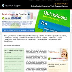 QuickBooks Support Phone Number -+1-800-979-2975