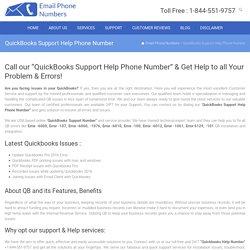 QuickBooks Support 1-844-551-9757 Help Phone Number