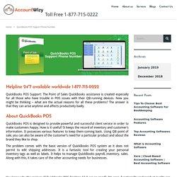 QuickBooks POS Support Phone Number 1-877-715-0222