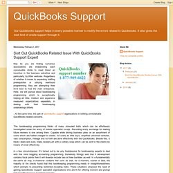 Sort Out QuickBooks Related Issue With QuickBooks Support Expert