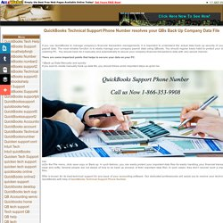 Benefits of QuickBooks Technical Support Phone Number