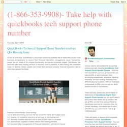 QuickBooks Technical Support Phone Number work