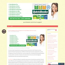 Avail QuickBooks Technical Support to Fix QuickBooks Technical Issues