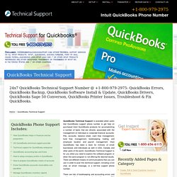 QuickBooks Technical Support - +1-800-979-2975