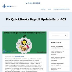 Fix QuickBooks Update Error 403