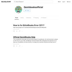 Quickbooksofficial (quickbooksofficial) on Bloglovin'