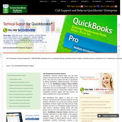 888-846-6939-Call Quickbooks® Enterprise Support