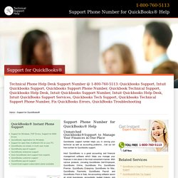 800-760-5113 Intuit QuickBooks Customer Support Number