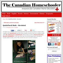 QuickCheck Math – Revisited.