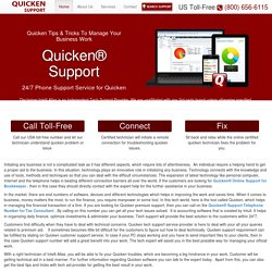 888-846-6939-Quicken Tips & Tricks To Manage Your Business Work