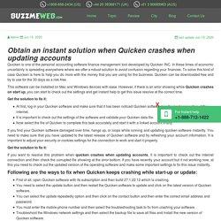 Fix Quicken crashes when updating accounts