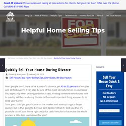 Quickly Sell Your House During Divorce - Integrity Homebuyers