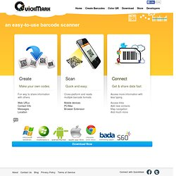 Mobile Barcode - Web Site QuickMark