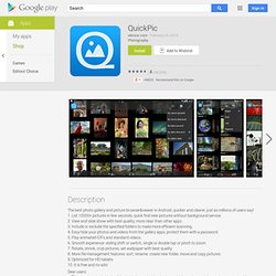 QuickPic - Apps on Android Market