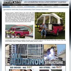 Quicksilver All Aluminum Ultra Light Campers, Ultralight Campers, Lightweight Campers, Ultra-Lightweight Campers