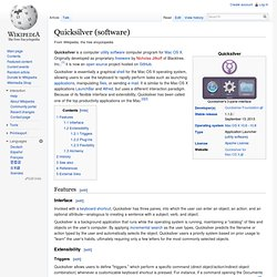 Quicksilver (software)