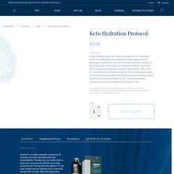 Keto Hydration Protocol - Quicksilver Scientific