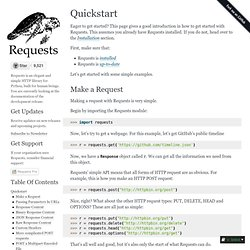 Quickstart — Requests 2.8.1 documentation