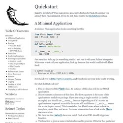 Quickstart — Flask Documentation (0.10)