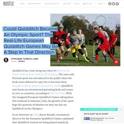Could Quidditch Become An Olympic Sport? The Real-Life European Quidditch Games May Be A Step In That Direction