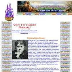 Quién Fue Madame Blavatsky