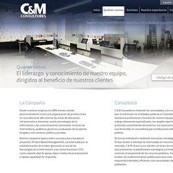 Quienes somos - C & M Consultores