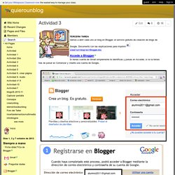 quierounblog - Actividad 3