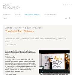 The Quiet Tech Network - Quiet Revolution