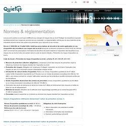 Normes & réglementation