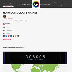RUTA DON QUIJOTE PROFES by zenobia1974 on Genial.ly