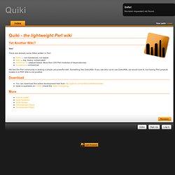 Quiki: guest@index